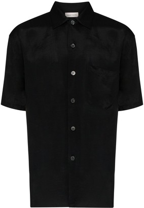 Alexander McQueen Dragon Embroidered Shirt