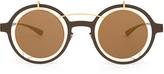 Mykita X Damir Doma Madeline round-frame sunglasses