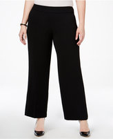 Alfani Plus Size Wide-Leg Pants, Only at Macy's
