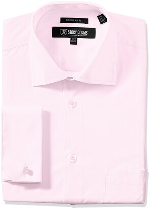 Stacy Adams Stacy Adam's Men's Adjustable Collar Dress Shirt