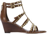 Ash studded gladiator wedges