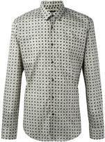 Fendi cat print shirt - men - Cotton - 40