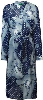 Jean Paul Gaultier Pre-Owned 'Adam Et Eve Rastas D'Aujoud Hui' cupid print dress