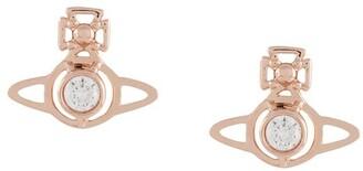 Vivienne Westwood small Orb pendant earrings