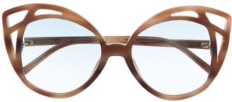 Linda Farrow Oversized-Frame Sunglasses