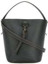 Furla drawstring bucket tote - women - Leather - One Size