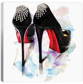 iCanvas Christian Louboutin Classic Heels by Rongrong DeVoe (Canvas)