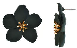 Bijoux Bar Flower 1 1/2 Inch Stud Earrings