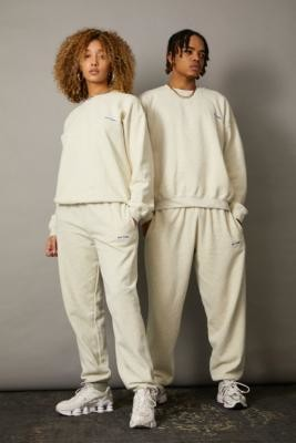 Iets Frans... iets frans. Unisex Stone Joggers - White XS at Urban Outfitters