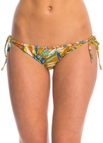 Volcom Faded Flowers Tie Side Bikini Bottom 8139720