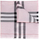 Burberry house check scarf - women - Silk/Viscose/Wool/Mulberry Silk - One Size