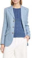 Polo Ralph Lauren Herringbone Linen & Silk Jacket