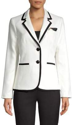 Kasper Notch Lapel Stretch Jacket