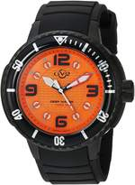 GV2 by Gevril Men's 8904 Termoclino Analog Display Quartz Black Watch