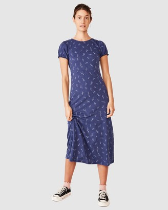 Cotton On Women's Blue Midi Dresses - Mackayla Mini Dress - Size XS at The Iconic