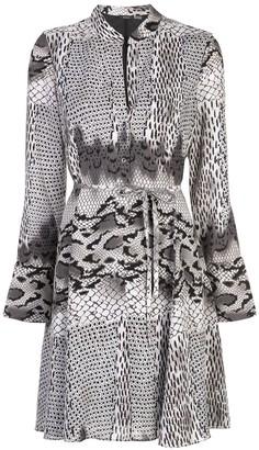 Natori short snakeskin print dress