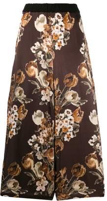 Junya Watanabe floral print trousers