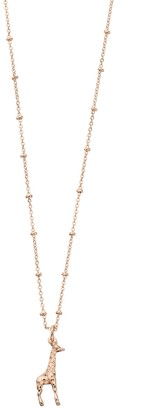 Lauren Conrad Giraffe Pendant Necklace