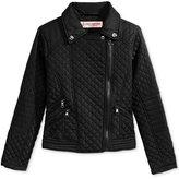 Urban Republic Thinfill Moto Barn Jacket, Big Girls (7-16)