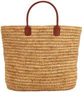 Buji Baja Everyday Handheld Raffia Tote Bag