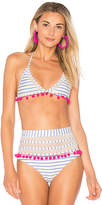 Tularosa x REVOLVE Nina Bikini Top in White. - size L (also in M,S,XS)