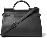 Dolce & Gabbana - Sicily Full-grain Leather Holdall