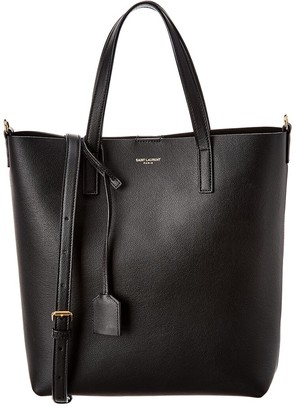 Saint Laurent N/S Toy Leather Shopper Tote