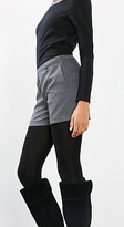 Esprit OUTLET finely textured winter shorts