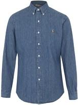 Polo Ralph Lauren Blue Denim Shirt