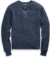 Ralph Lauren Waffle-knit Cotton Henley