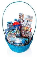 BASSKET.COM Marvel Avengers Gift Basket For Boys, Ultimate Gift Basket - Perfect ideas for Birthdays, Easter, Christmas, Get Well, or Other Occasion!