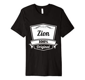 Zion Gift Personalized Name Birthday Premium T-Shirt