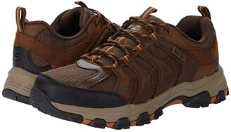 Skechers Relaxed Fit Selmen - Lorago (Dark Brown) Men's Shoes