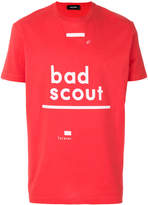 DSQUARED2 Bad Scout slogan print T-shirt