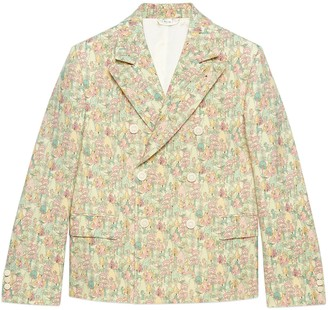 Gucci Liberty floral wool jacket