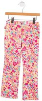 Moschino Girls' Printed Straight-Leg Pants
