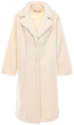 Stand Studio Maria Faux Teddy Long Coat