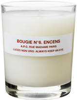 A.P.C. No6 Encens Scented Candle