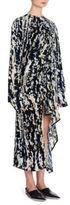 Marni Printed Velvet Dress