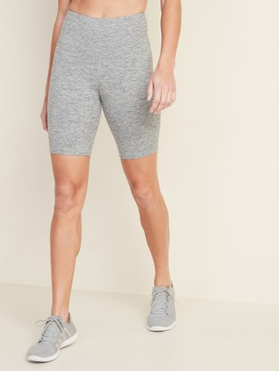 Old Navy High-Waisted Elevate Compression Bermudas For Women - 8-Inch Inseam