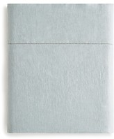 Amalia Stonewashed Linen Flat Sheet, Queen - 100% Exclusive