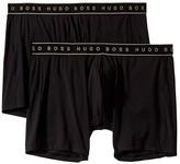 HUGO BOSS Micro 2-Pack Boxer Brief (Black) Men's Underwear