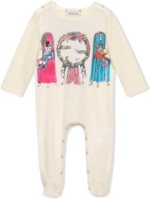 Gucci Kids Yuko Higuchi print pyjamas