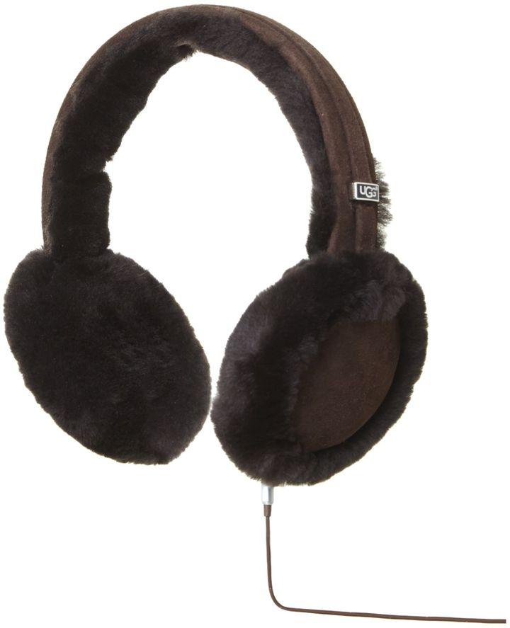 UGG Classic logo audio earmuff