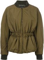 Isabel Marant Dex short bomber-style jacket - women - Polyamide/Polyester/Spandex/Elastane/Wool - 36