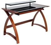 Lumisource Bentley Office Desk Wenge/Black