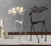 Pottery Barn Sculpted Reindeer Votive Holder