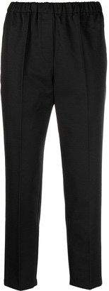 Christian Wijnants Elasticated-Waist Cropped Trousers