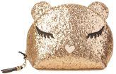 Furla Allegra Makeup Bag Gold Glitter