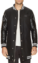 Members Only Varsity Long Jacket
